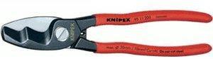 Knipex Kabelschere mit Doppelschneide 200 mm (95 11 200)