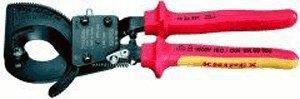 Knipex VDE Kabelschneider Ratschenprinzip 250 mm (95 36 250)