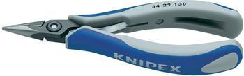 Knipex Präzisions-Elektronik-Greifzange 130 mm (34 22 130)