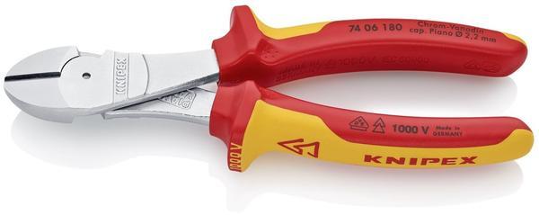 Knipex VDE Kraft-Seitenschneider 180 mm (74 06 180)