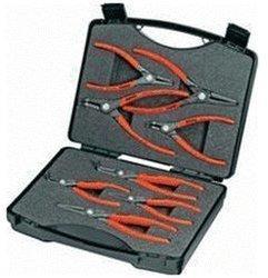 Knipex Präzisions-Sicherungsringzangen-Set 8-tlg. im Koffer (00 21 25 S)