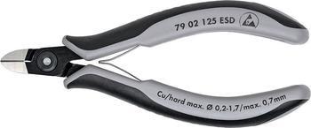 Knipex Präzisions-Elektronik-Seitenschneider ESD (79 02 125 ESD)
