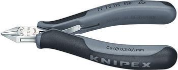 Knipex Elektronik-Seitenschneider ESD (77 72 115 ESD)