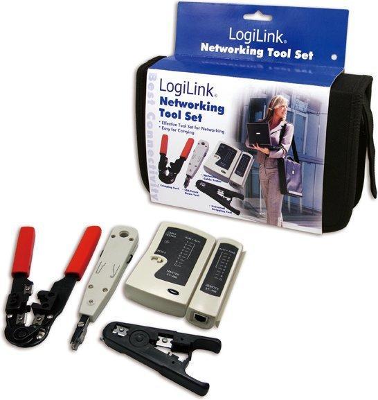 LogiLink Netzwerk Werkzeug Set mit Tasche (WZ0012)