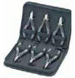 Knipex Elektronikzangen-Set für Arbeiten an elektronischen Bauteilen 6-tlg (00 20 17)