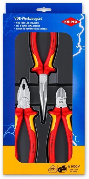 Knipex Elektro-Paket 3-tlg. (00 20 12)