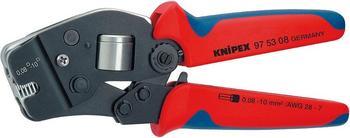 Knipex Selbsteinstellende Crimpzange für Aderendhülsen 190mm (97 53 08)