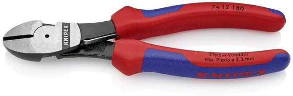 Knipex Kraft-Seitenschneider 180 mm (74 12 180)
