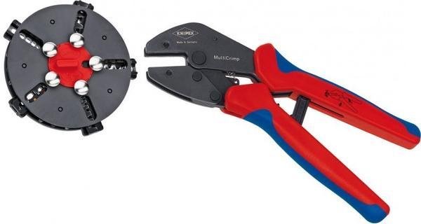 Knipex MultiCrimp Crimpzange mit Wechselmagazin (97 33 02)