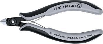 Knipex Präzisions-Elektronik-Seitenschneider ESD (79 02 120 ESD)
