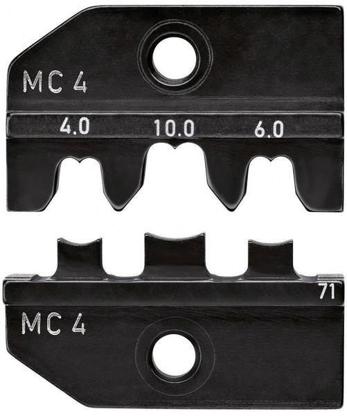 Knipex Crimpeinsatz für Solar-Steckverbinder R41049 4 / 6 10 mm² 97 49 71 KN - MC4