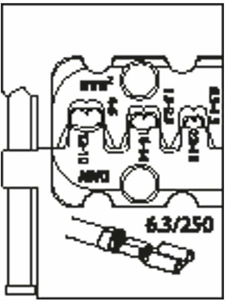 Gedore Modul-Einsatz für Flachsteckhülsen 8140-11 (1830651)