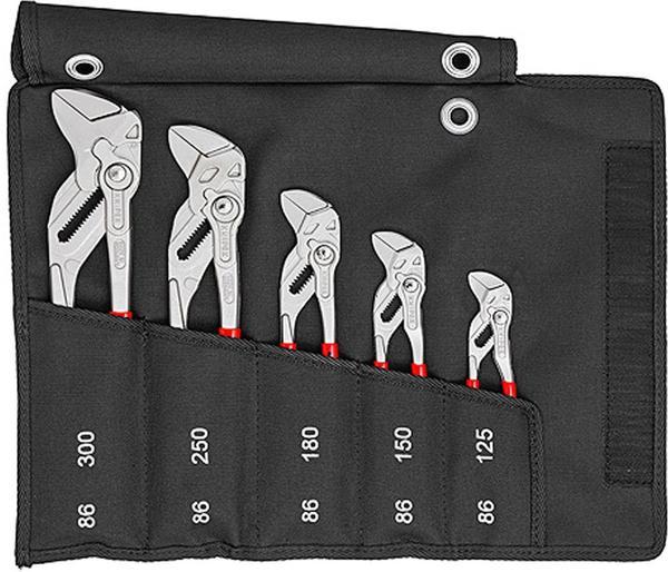 Knipex Zangenschlüssel-Set 5-teilig (00 19 55 S4)