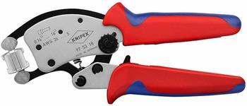 Knipex Twistor 16 Crimp-Hebelzange für Aderendhülsen 0,14-16 mm² (97 53 18)