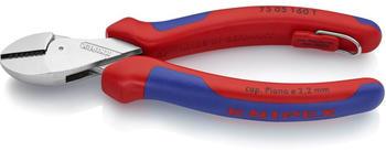 Knipex X-Cut Kompakt-Seitenschneider mit Befestigungsöse 160 mm (73 05 160 T)