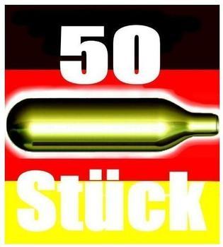 bierkapseln4u Bierkapseln CO2 für alle Bierzapfanlagen 50 St.