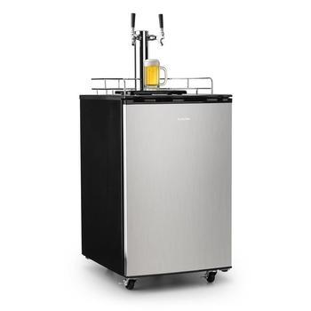 Klarstein Big Spender Double Bierfass-Kühlschrank Bierzapfanlage 173l
