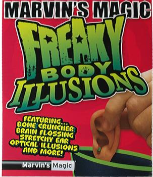 Marvin´s Magic Freaky Body Illusion - Ohr (englisch)