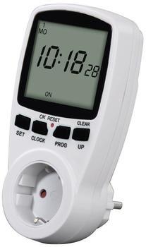 Hama Digitale Wochenzeitschaltuhr Premium 00108838 weiß