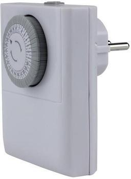 Unitec Analog-Tageszeitschaltuhr weiß (46435)