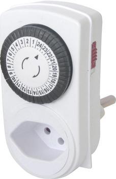 GAO Steckdosen-Zeitschaltuhr analog weiß (17SWD/3A)