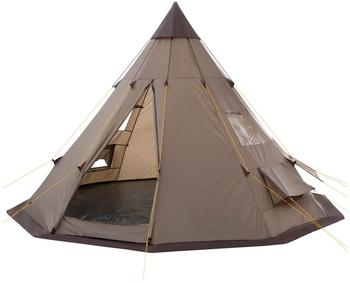 CampFeuer Indian Tent (Teepee, brown)
