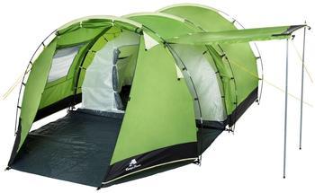 CampFeuer Tunnelzelt grün/schwarz