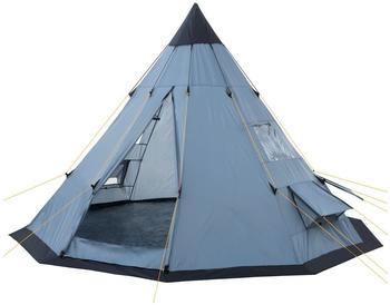 CampFeuer Tipi grau/blau