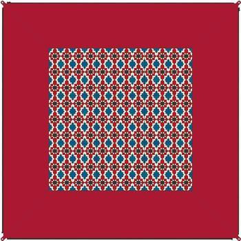 Bent BENT Zip Carpet Teppich, 250x250cm, rot
