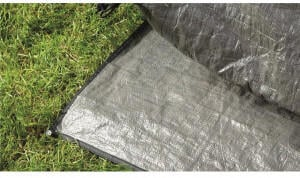 Outwell Woodcrest Zeltunterlage 340x240x210cm, grau