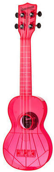 Kala Soprano Waterman fluorescent pink